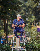 Hilversum, The Netherlands, September 2, 2018,  Tulip Tennis Center, NKS, Umpire<br />
