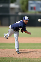 Milwaukee Brewers pitcher Victor Diaz (67) during an Instructional League game against the Cincinnati Reds on October 6, 2014 at Maryvale Baseball Park Training Complex in Phoenix, Arizona.  (Mike Janes/Four Seam Images)