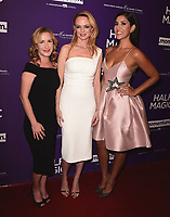 """WEST HOLLYWOOD - FEBRUARY 21:  Angela Kinsey, Heather Graham and Stephanie Beatriz at Los Angeles screening of """"Half Magic"""" at The London West Hollywood on February 21, 2018 in West Hollywood, California.(Photo by Scott Kirkland/PictureGroup)"""