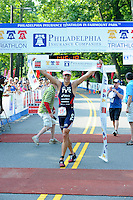PHILLY TRI Day Two: Run Finish
