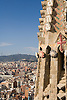 The Temple of the Sacred Family, designed by Antoni Gaudi, towers over Barcelona, Spain. Photo by Kevin J. Miyazaki/Redux