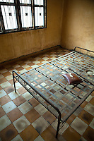 """Tuol Sleng or the Genocide Museum is in Phnom Penh, Cambodia. The site is a former high school which was used as the notorious Security Prison 21 (S-21) by the Khmer Rouge communist regime from its rise to power in 1975 to its fall in 1979. Tuol Sleng  means """"Hill of the Poisonous Trees"""" or """"Strychnine Hill""""."""