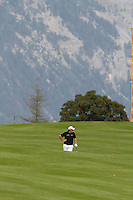 Shane Lowery (IRL) on the 10th on the 1st day of the Omega European Masters, Crans-Sur-Sierre, Crans Montana, Switzerland..Picture: Golffile/Fran Caffrey..