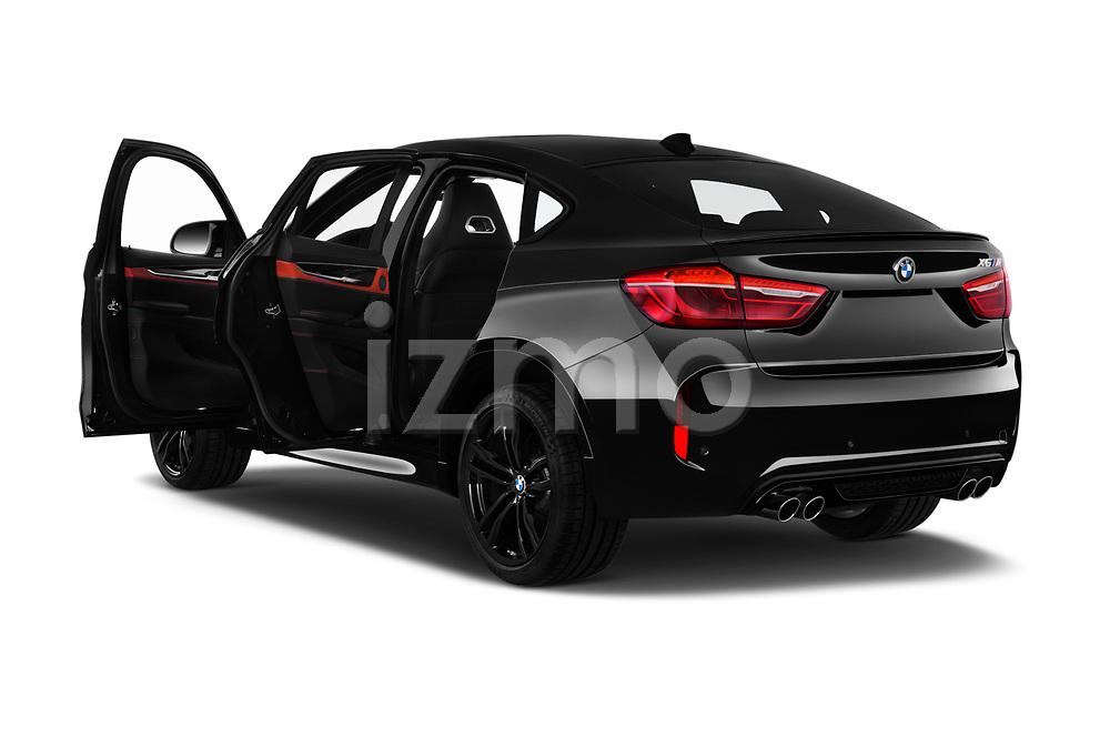 2018 BMW X6M Black Fire 5 Door SUV doors