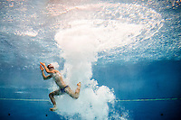 Andrea Chiarabini (ITA)   Qualificazioni piattaforma 10m maschile  Campionati Italiani assoluti di tuffi indoor    Torino 04/04/2014    Piscina Stadio Monumentale  Nuoto Tuffi    Foto Giorgio Perottino / Insidefoto