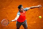 Caja Magica. Madrid. Spain. 07.05.2014. Mutua Madrid Open, Match beetwen Marinko Matosevic vs Jhon Isner.