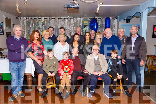 95th Birthday: John Carmody, Crotta, Lixnaw celebrating his 95th birthday with family & friends at Parker's Bar, Kilflynn on Saturday night last.