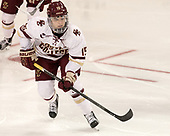 Erin Connolly (BC - 15) - The number one seeded Boston College Eagles defeated the eight seeded Merrimack College Warriors 1-0 to sweep their Hockey East quarterfinal series on Friday, February 24, 2017, at Kelley Rink in Conte Forum in Chestnut Hill, Massachusetts.The number one seeded Boston College Eagles defeated the eight seeded Merrimack College Warriors 1-0 to sweep their Hockey East quarterfinal series on Friday, February 24, 2017, at Kelley Rink in Conte Forum in Chestnut Hill, Massachusetts.