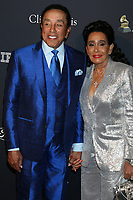 LOS ANGELES - JAN 25:  Smokey Robinson, wife at the 2020 Clive Davis Pre-Grammy Party at the Beverly Hilton Hotel on January 25, 2020 in Beverly Hills, CA