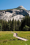 Bicycling, Yosemite Valley, Yosemite National Park, California, USA.  Photo copyright Lee Foster.  Photo # california121197