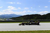 4th July 2020; Red Bull Ring, Spielberg Austria; F1 Grand Prix of Austria, qualifying sessions;  3 Daniel Ricciardo AUS, Renault DP World F1 Team