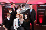Real Business Challenge 2011.The winning team from St Davids College Llandudno.25.11.11.©Steve Pope