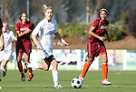 09 November 2008: North Carolina's Ali Hawkins. The University of North Carolina Tarheels defeated the Virginia Tech University Hokies 3-0 at WakeMed Stadium at WakeMed Soccer Park in Cary, NC in the women's ACC tournament championship game.