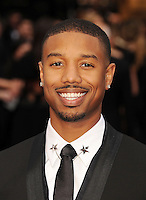WWW.BLUESTAR-IMAGES.COM Actor Michael B. Jordan attends the 86th Annual Academy Awards held at Hollywood &amp; Highland Center on March 2, 2014 in Hollywood, California.<br /> Photo: BlueStar Images/OIC jbm1005  +44 (0)208 445 8588