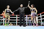 02 marzo 2012 - Thai Boxe Mania<br /> Torino, Palaruffini<br /> <br /> Marta Mercinelli ITA (SX)<br /> Perla Bragagnolo ITA (DX)