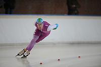 SCHAATSEN: DEVENTER: IJsbaan De Scheg, 26-10-12, IJsselcup, winnaar 1e 500m Mark Tuitert, ©foto Martin de Jong
