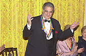 Placido Domingo at the Kennedy Center Honors reception in the East Room of the White House in Washington, D.C. on Sunday, December 3, 2000..Credit: Ron Sachs / Pool via CNP