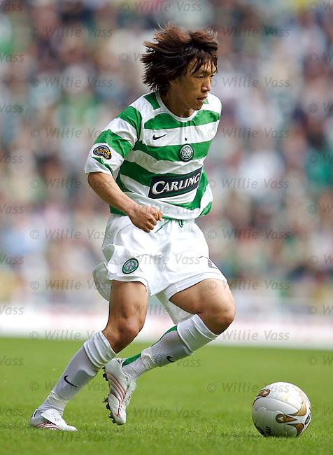 Shunsuke Nakamura, Celtic.stock season 2006-2007.pic willie vass