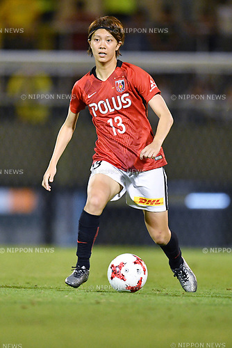 Akari Shiraki (Reds Ladies), <br /> AUGUST 12, 2017 - Football / Soccer : <br /> Plenus Nadeshiko League Cup 2017 Division 1 <br /> Final match between JEF United Ichihara Chiba Ladies 1-0 Urawa Reds Ladies<br /> at Nishigaoka Soccer Stadium in Tokyo, Japan. <br /> (Photo by MATSUO.K/AFLO)