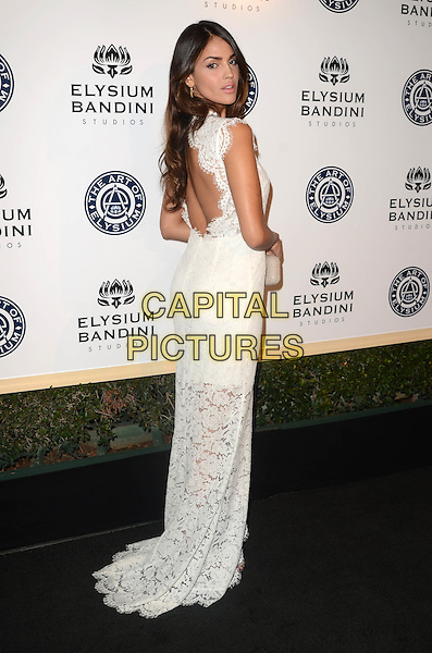 LOS ANGELES, CA - JANUARY 7: Eiza Gonzalez at the The Art Of Elysium Tenth Annual Celebration 'Heaven' Charity Gala at Red Studios in Los Angeles, California on January 7, 2017. <br /> CAP/MPI/DE<br /> &copy;DE/MPI/Capital Pictures