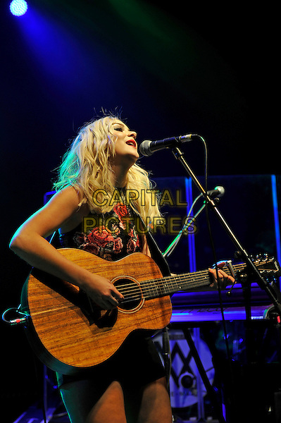LONDON, ENGLAND - FEBRUARY 14: Abby Inez of 'Darline' performing for 'War Child' at Shepherd's Bush Empire on February 14, 2017 in London, England.<br /> CAP/MAR<br /> &copy;MAR/Capital Pictures