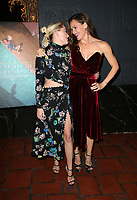 LOS ANGELES, CA - NOVEMBER 17: Maika Monroe, Jennifer Garner, at the Tribes Of Palos Verdes Premiere at The Ace Hotel Theater in Los Angeles, California on November 17, 2107. Credit: Faye Sadou/MediaPunch /NortePhoto.com