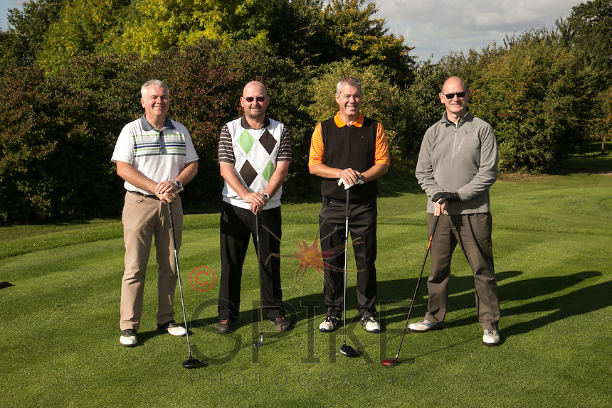 Jamieson Christie Wealth Management are, from left Dominic O'Brien, Andrew Harvey, Anthony Cawley and Derek Lowe