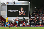 West Ham's fans have a minutes applause in memory of Dylan Tombides<br /> <br /> Barclays Premier League - West Ham United  vs Crystal Palace  - Upton Park - England - 28th February 2015 - Picture David Klein/Sportimage
