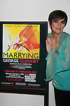 """Opening Night - As the World Turns' Colleen Zenk stars in """"Marrying George Clooney: Confessions from a Midlife Crisis"""" on March 1, 2012 at Cap21 America's Musical Theatre Conservatory & Theatre Company, New York City, New York.  (Photo by Sue Coflin/Max Photos)"""
