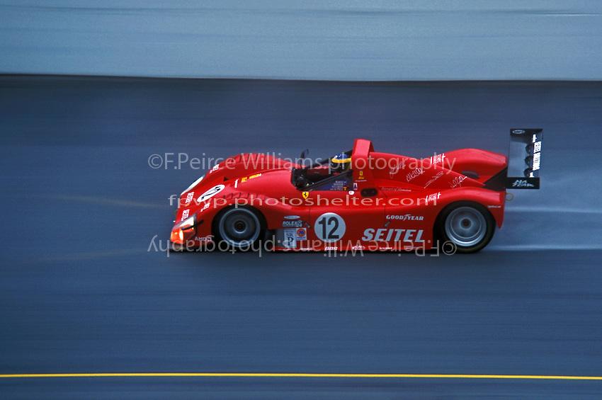 #12 Ferrari 333P, 2001 Rolex 24 at Daytona, Daytona International Speedway, Daytona Beach, Florida USA Feb. 2001