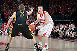 March 3, 2010: Wisconsin Badgers guard Jason Bohannon (12) handles the ball during a Big Ten Conference NCAA basketball game against the Iowa Hawkeyes at the Kohl Center on March 3, 2010 in Madison, Wisconsin. The Badgers won 67-40. (Photo by David Stluka)