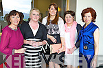 Mary Leen Marianne Lyons Aisling Leen Debra Barrett and Carmel O'Keeffe (all Tralee) supporting the Ladies Lunch & Fashion afternoon on Sunday last held in Ballyroe Heights Hotel in aid of the  Recovery Haven Tralee .