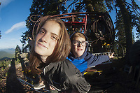 Eliza & Max, Mt. Ashland, Rogue River–Siskiyou National Forest, Oregon, US
