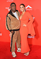 LOS ANGELES, CA. January 28, 2019: Tracy Morgan &amp; Megan Wollover at the US premiere of &quot;What Men Want!&quot; at the Regency Village Theatre, Westwood.<br /> Picture: Paul Smith/Featureflash
