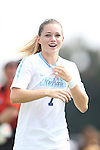 01 September 2013: North Carolina's Kealia Ohai. The University of North Carolina Tar Heels hosted the Kennesaw State University Owls at Fetzer Field in Chapel Hill, NC in a 2013 NCAA Division I Women's Soccer match. UNC won the game 3-0.
