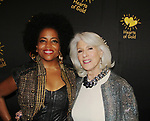 Rhonda Ross & Jamie deRoy- Hearts of Gold annual All That Glitters Gala - 24 years of support to New York City's homeless mothers and their cildren - (VIP Reception - Silent Auction) was held on November 7, 2018 at Noir et Blanc and the 40/40 Club in New York City, New York.  (Photo by Sue Coflin/Max Photo)