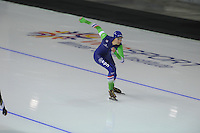 SPEEDSKATING: CALGARY: 13-11-2015, Olympic Oval, ISU World Cup, 500m, Margot Boer (NED), ©foto Martin de Jong