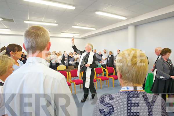 Bishop Ray Browne (Bishop of Kerry) pictured at the opening of the Bon Secours Hospital extension on Thursday.