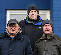Oldham Athletic fans enjoy the pre-match atmosphere  ahead of the Sky Bet League 1 match between Oldham Athletic and Bristol Rovers at Boundary Park, Oldham, England on 30 December 2017. Photo by Juel Miah / PRiME Media Images.