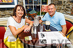 Katie McCarthy from Fenit and Joe Butler enjoying the evening in the Brogue Inn on Saturday.