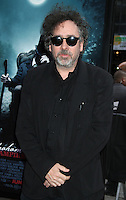 Tim Burton at the premiere of Abraham Lincoln: Vampire  Hunter at AMC Loews Lincoln Square in New York City. June 18, 2012. &copy; RW/MediaPunch Inc. NORTEPHOTO.COM<br />
