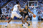 CHAPEL HILL, NC - DECEMBER 03: Tulane's Caleb Daniels (10). The University of North Carolina Tar Heels hosted the Tulane University Green Wave on December 3, 2017 at Dean E. Smith Center in Chapel Hill, NC in a Division I men's college basketball game. UNC won the game 97-73.