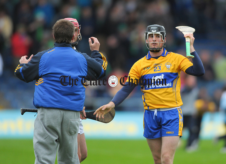 A disappointed Colin Ryan of Clare following the All-Ireland senior championship qualifier phase 3 game at Semple Stadium. Photograph by John Kelly.
