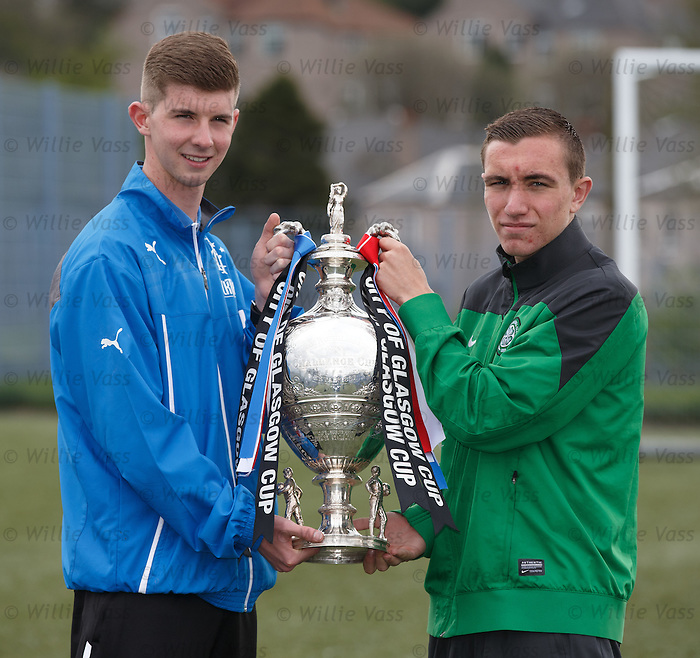 Glasgow cup final preview: Rangers and Celtic captains David Brownlie and Joe Thompson