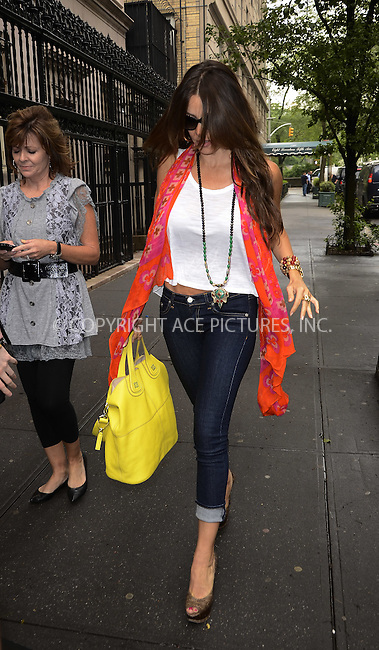 WWW.ACEPIXS.COM . . . . .  ....May 16 2012, New York City....Actress Sofia Vergara walks in downtown Manhattan on May 16 2012 in New York City....Please byline: CURTIS MEANS - ACE PICTURES.... *** ***..Ace Pictures, Inc:  ..Philip Vaughan (212) 243-8787 or (646) 769 0430..e-mail: info@acepixs.com..web: http://www.acepixs.com