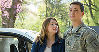 Thank You for Your Service (2017)<br /> HALEY BENNETT, MILES TELLER<br /> *Filmstill - Editorial Use Only*<br /> CAP/FB<br /> Image supplied by Capital Pictures