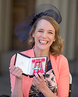 19 April 2017 - London, England - Sophie Christiansen. Investitures at Buckingham Palace. Photo Credit: Alpha Press/AdMedia