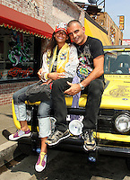 Tatiana Silva meets with Christian Audigier - Los Angeles