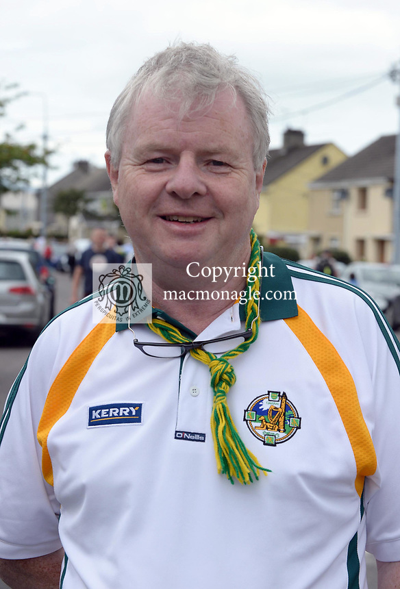 2-7-2017: Publican Ger Counihan at the Kerry V Cork Munster Football final in Killarney on Sunday.<br /> Photo: Don MacMonagle<br /> <br /> Vox pop Majella O&quot;Sullivan