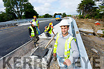 Niall Casey, Site Engineer on Dysart Bridge reconstruction on the Castleisland Farranfore road which nearly completed.
